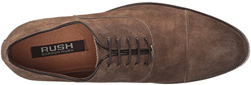 Rush by Gordon Rush Mens Rowling Oxford Taupe Suede Xp51ns