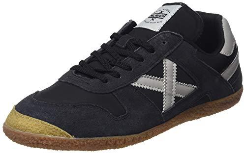 Negro – Adulto Sneaker Nero Munich 1387 Blanco Goal Unisex OwgPUv