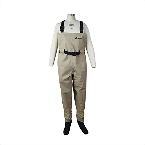 Neygu outdoor fishing waders with stocking foot for Fishing waders amazon