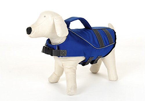 llh-blue-ripstop-dog-life-jacket-adjustable-doggy-life-preserver-with-a-pet-swimming-toy