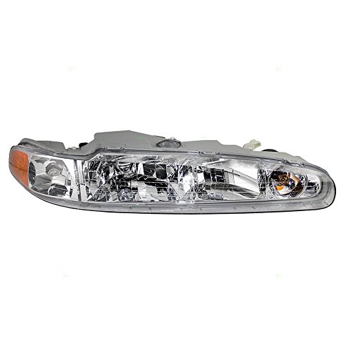 Passengers Headlight Headlamp Replacement for Oldsmobile (Oldsmobile Intrigue New Headlight Headlamp)