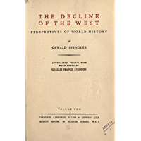 The decline of the West (English Edition)