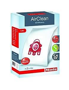 Miele Type F/J/M AirClean FilterBags, 1 Box