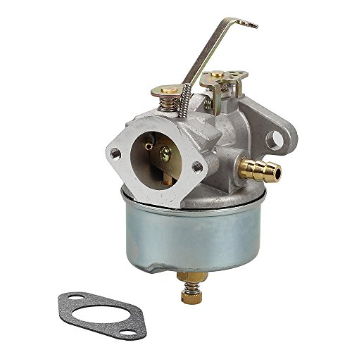Savior Carburetor 632272 with Gasket for Tecumseh Carb H30 H50 H60 HH60 632230 Carb 5HP 6HP Troy-Bilt Hose Tiller Engine (5hp Tecumseh Carburetor)