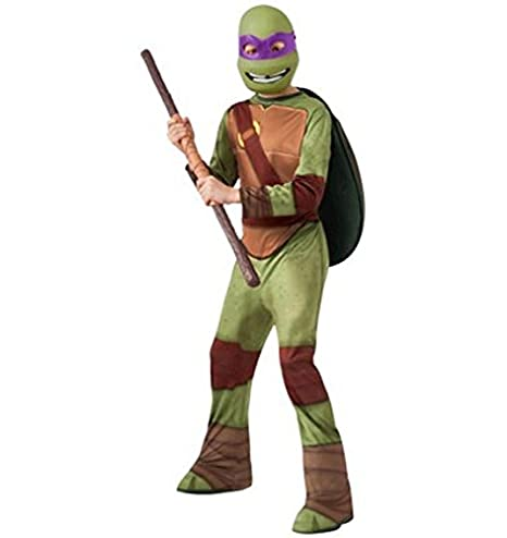 TMNT Donatello Halloween Costume Child L 12-14 Boy Teenage Mutant Ninja Turtles