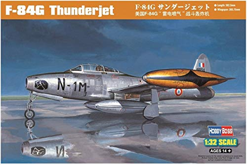 Hobby Boss F-84G Thunderjet Airplane Model Building Kit