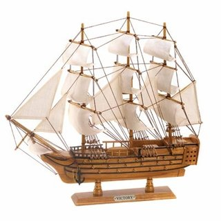- Eastwind Gifts d1296 HMS Victory Ship Model