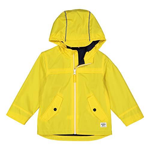 Osh Kosh Baby Boys Perfect Rainjacket Rainslicker Raincoat, Solid Yellow 24 Months -
