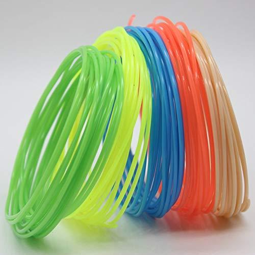 iUcar Filament PLA 1.75mm 3D Drucker Filament-Druckmaterial für den Druckstift (10 Meter)