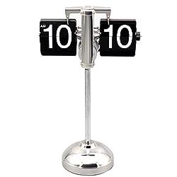 Dovewill Modern Retro Scale Digital Auto Flip Page Single Stand Desktop Table Clock#1