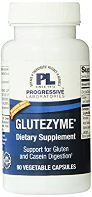 Progressive Labs Glutezyme Supplement, 90 Count