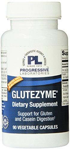 Progressive Labs Glutezyme Supplement, 90 Count