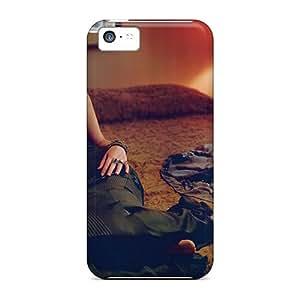 New Design Shatterproof OSLboHL5851PLWsr Case For Iphone 5c (jennifer Lawrence In Vogue Italy)