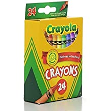 Crayola Classic Color Pack Crayons, 24 Count, (Pack of 4)