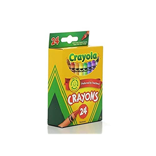 crayola classic color pack crayons 24 count pack of 4 lovely