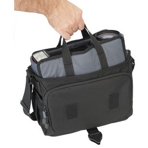 Tamrac 5782 Evolution Messenger 2 Photo/Laptop Bag (Black)