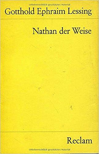Nathan der Weise (Reclams Universal-Bibliothek) (German Edition)