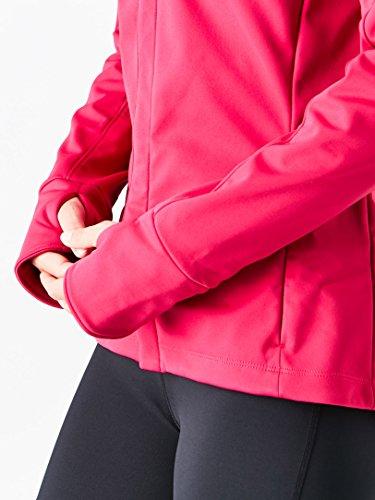 ASICS Womens Softshell Jacket, Performance Black, Large by ASICS (Image #6)