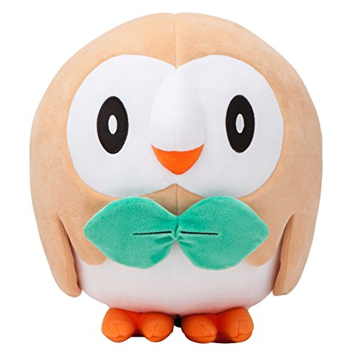 Pokemon Center Original (14-Inch) Poke Plush Doll Rowlet (Mokuroh)