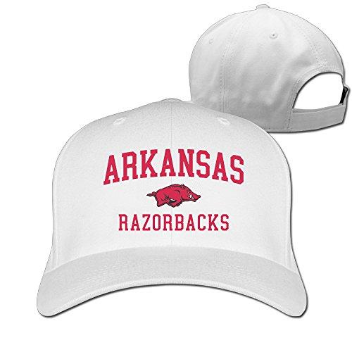 University Of Arkansas Razorbacks Snapback Hats Baseball Peaked Caps