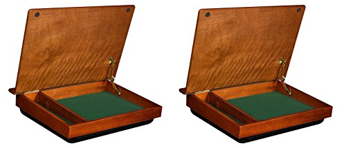 (LapDesk Schoolhouse Wood LapDesk with Storage (45075) (Pack of 2))