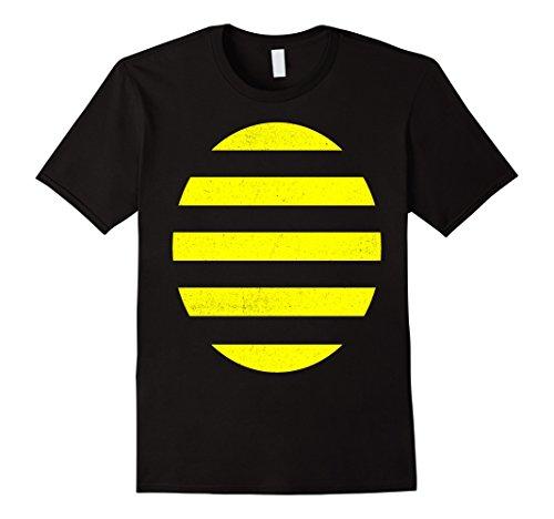 Bumble Bee Costume Ideas (Mens Bee T-Shirt Funny Bumblebee Costume Shirt 2XL Black)