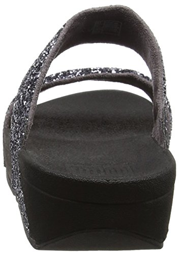 Open Grigio in peltro Toe Sandals Slide Glitterball Fitflop qBA86w