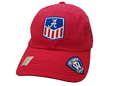 Top of the World Alabama Crimson Tide TOW Red Adjustable Strapback Slouch Relax Hat Cap from Top of the World
