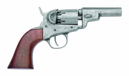 Denix .31 Caliber 1849 Pocket Pistol, Antique Grey Finish - Non-Firing Replica (The Best Pocket Pistol)