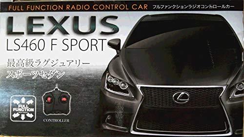 ワイ・エス・エヌ ラジコン RC レクサス LS460 F SPORT AHR1695 LEXUS トヨタ (ブラック)