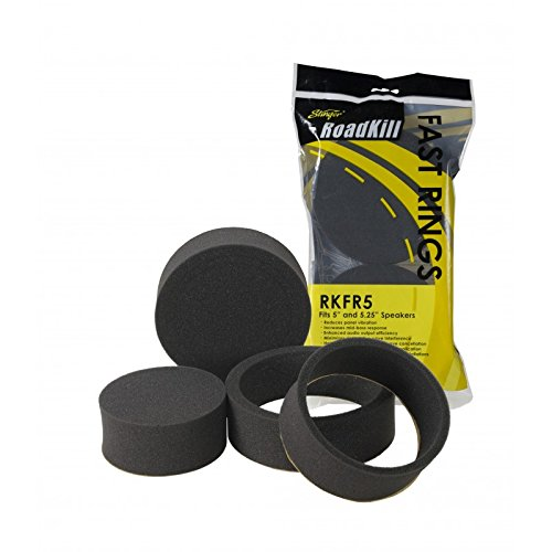 Road Kill RKFR5 3 Piece Foam Speaker Enhancer System Kit for 5'' & 5.25'' Drivers