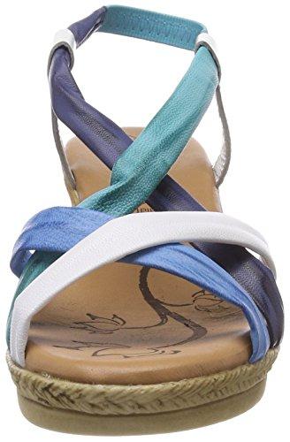 295 0145712 Kombiniert Blau Ouvert Conti Multicolore Bout Femme Andrea 8Agqnp7A