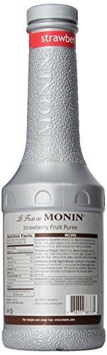 Monin Strawberry Purée 1 L - Single Bottle by Monin (Image #3)