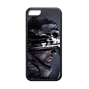 Call Of Duty Ghosts Game Iphone 5c Case Shell Cover (Laser Technology)