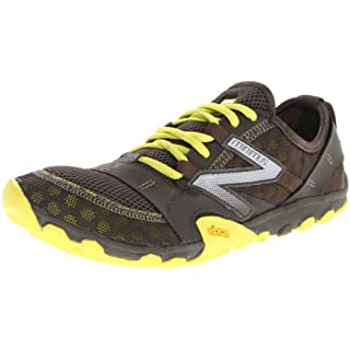 New Balance Men's Minimus 10 V2 Trail Running Shoe, Grey/Lime, 8 D US How Often To Replace Running Shoes]