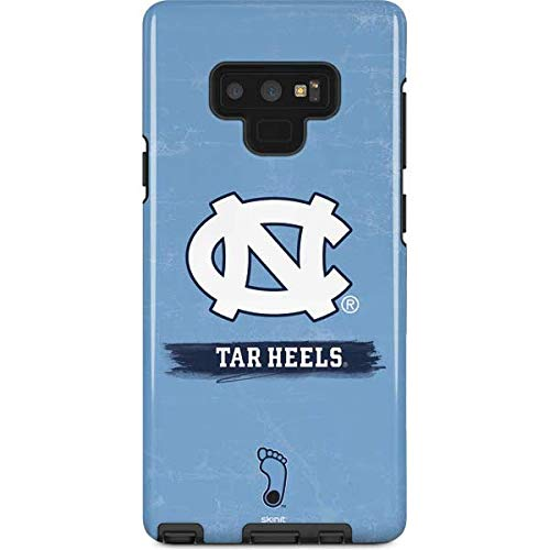 Skinit University of North Carolina Galaxy Note 9 Pro Case - North Carolina Tar Heels Design - High Gloss, Scratch Resistant Phone Cover