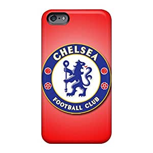 Shockproof Hard Cell-phone Cases For Apple Iphone 6s (SiT2221VRYU) Support Personal Customs Attractive Chelsea Fc Image