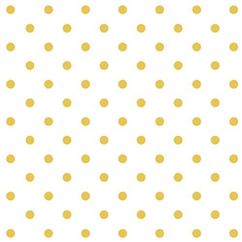 - Stitch & Sparkle Fabrics, Dark Romance, Gold Metallic Dot White Cotton Fabrics, Quilt, Crafts, Sewing, Cut by The Yard