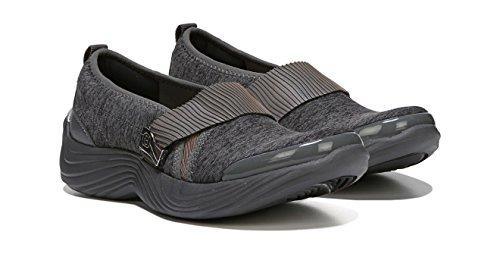 BZees Womens Tanza Loafer Flat Grey g90IYFsQnH