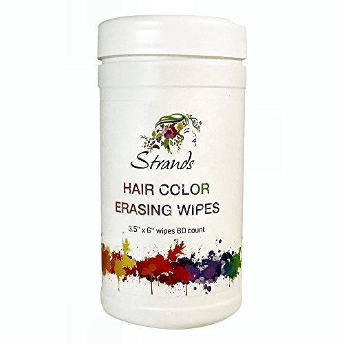 Strands Hair Color Gentle Erasing Wipes 60pcs