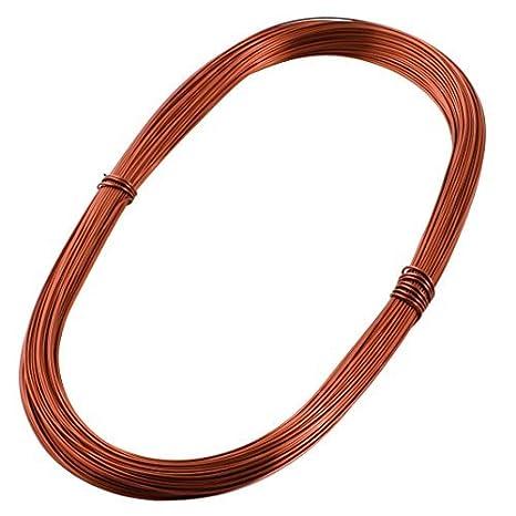 0.83mm de cobre Soldadura Soldadura PPA esmaltado reparación Wire 50M Longitud - - Amazon.com
