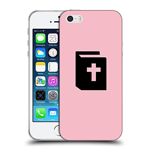 GoGoMobile Coque de Protection TPU Silicone Case pour // Q08450630 Religion 9 Rose // Apple iPhone 5 5S 5G SE