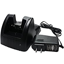 Yaesu VX-170 Charger - Replacement for Yaesu FNB-83 Two-Way Radio Chargers (100-240V)