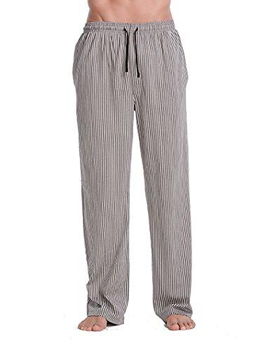 CYZ Men s 100% Cotton Jersey Knit Pajama Pants Lounge Pants-RockStripe-L 382bb9f8c
