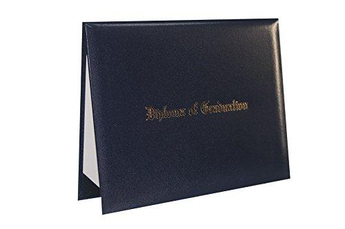 GraduationForYou Smooth Imprinted ''Diploma Of Graduation'' Certificate Cover 8 1/2'' x 11'' by GraduationForYou