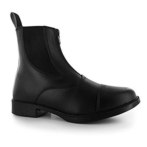Requisite Darwen Damen Reitstiefelette Reitschuhe Reit Boots Stiefelette Schuhe Schwarz