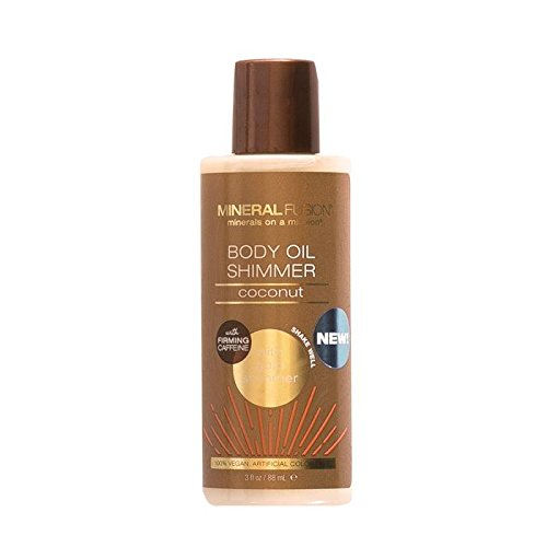 Mineral Fusion Bronze Body Oil Shimmer, Macadamia Nut, 3 Ounce ()