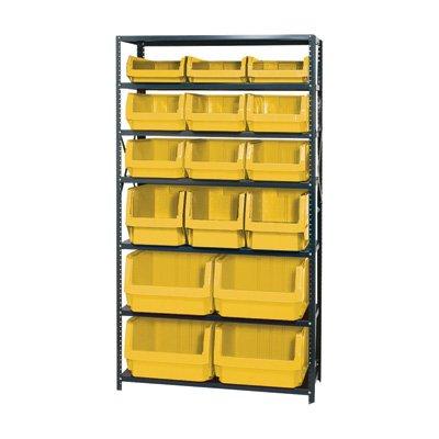 Quantum Storage Heavy Duty Magnum Bin Unit - 18in. x 42in. x 75in. Unit Size, - Bin Magnum Unit