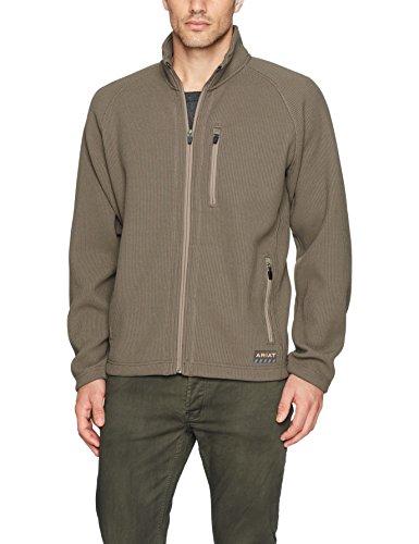 Ariat Men's REBAR Dura Tek Fleece Jacket, Morel, Small - Ariat Fleece