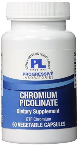 UPC 351821008455, Progressive Labs Chromium Picolinate Supplement, 60 Count